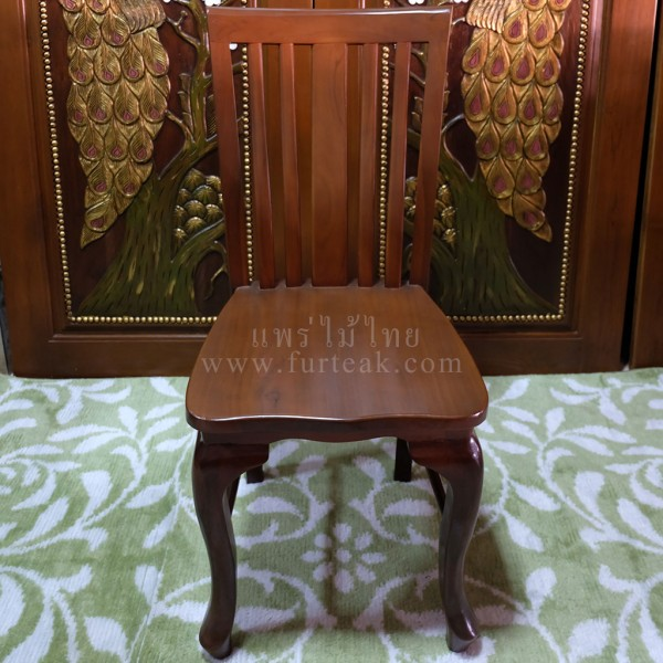 เก้าอี้ไม้สัก c01-f