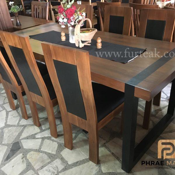ชุดโต๊ะอาหาร modern loft