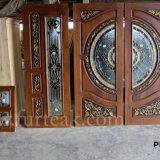 ประตูนิรภัยไม้สักราคาถูก