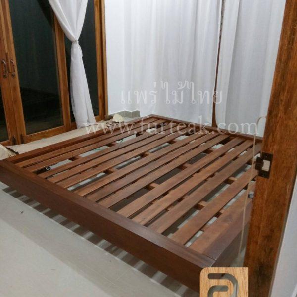 เตียงโมเดิร์นไม้สัก